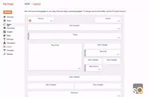 How to Add Tabs for Blogger & Link In Navigation – Page Menu
