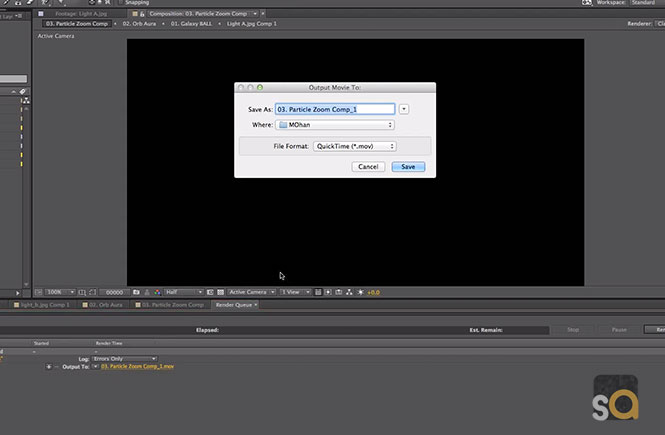 How To Render | Export & Save an Adobe After Effects CC in Mac Tutorial