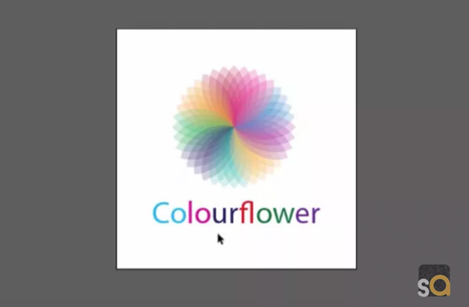 Adobe Illustrator CS6 Colorful Flower Design Tutorial