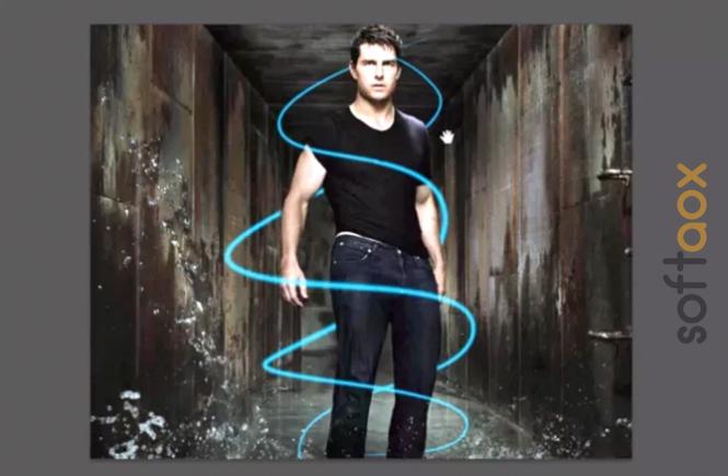 Neon Lines Effect in Photoshop CS6 Tutorial