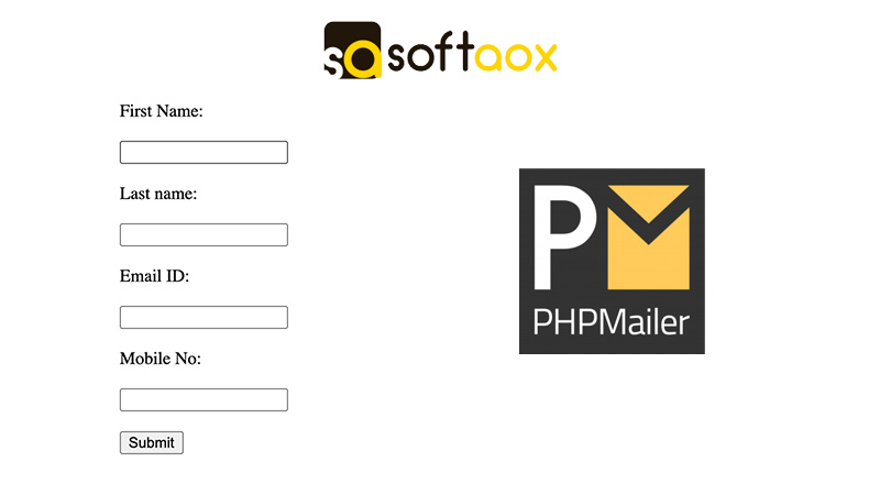 Send Form Data Through Email Using PHPMailer in PHP