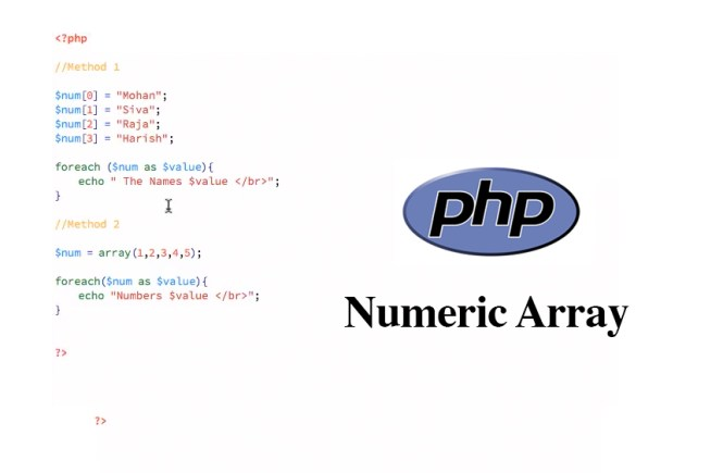 PHP Numeric Array