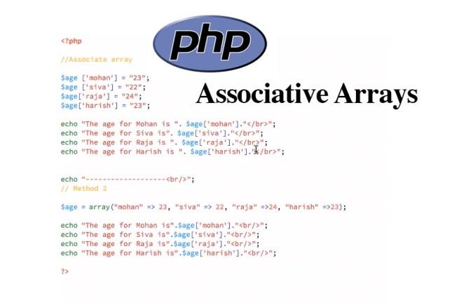 PHP Associative Arrays