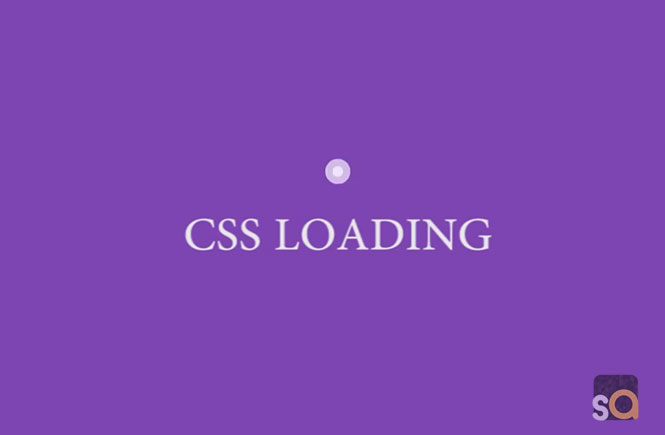 CSS Double Bounce Loading Animation