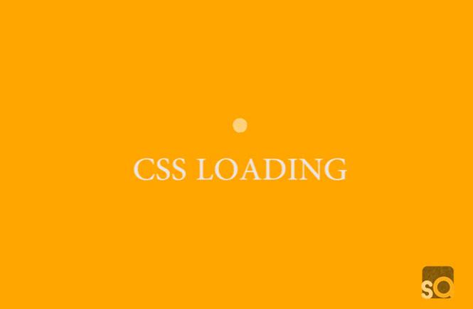CSS Pulse Loading Animation