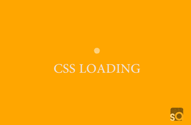 CSS Pulse Loading Animation