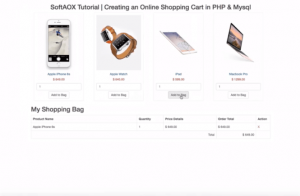 creating-an-Online-Shopping-Cart-in-PHP-Mysql