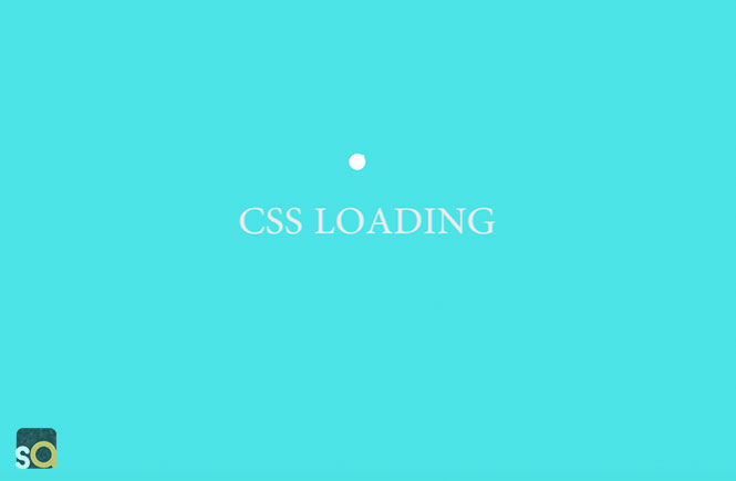 CSS Chasing Dots Loading Spinner