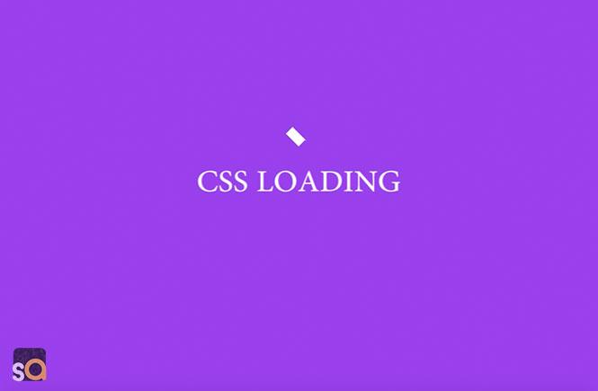CSS-Flip-Box-Loading-Animation