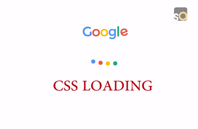 Modern Google Loader in Pure CSS