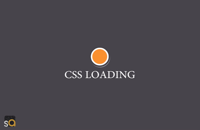 Pure CSS Circular Loading Spinner