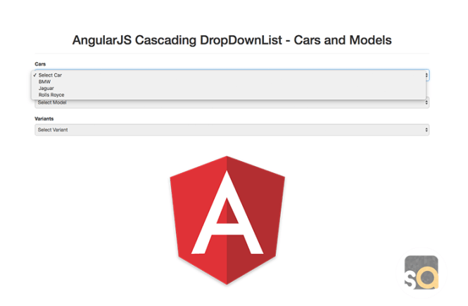 AngularJS Cascading DropDownList – Cars and Models