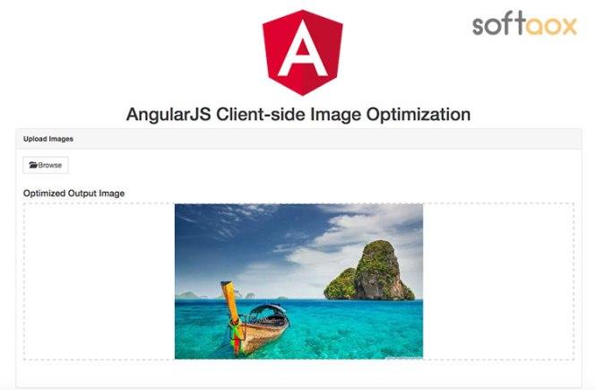 AngularJS Client-side Image Optimization