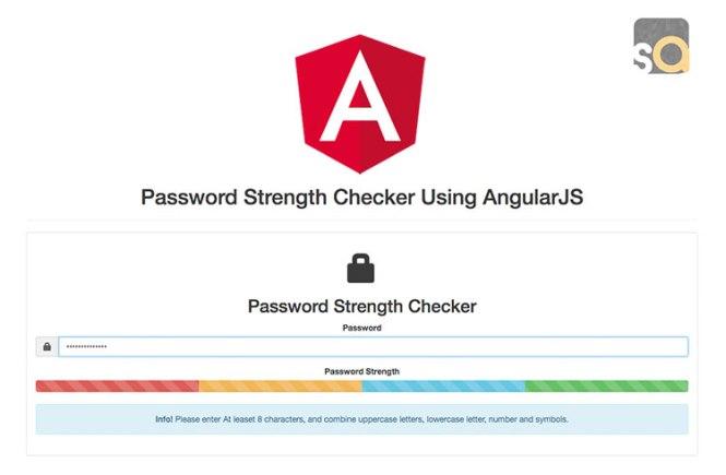 Password Strength Checker Using AngularJS