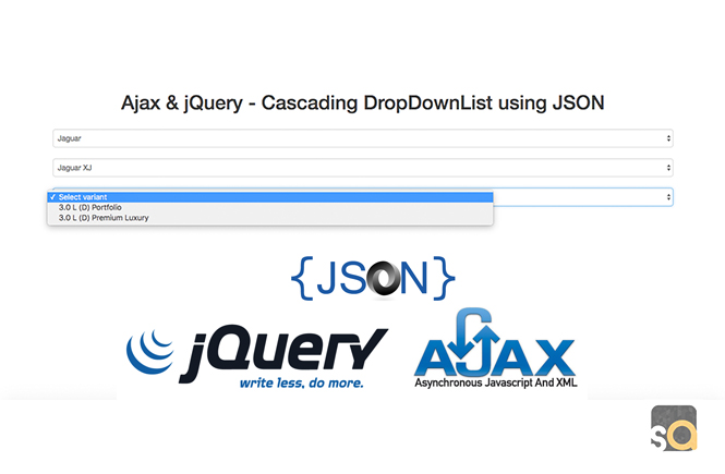 Ajax & jQuery – Cascading DropDownList using JSON