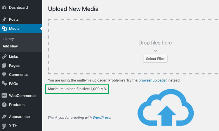 How to Increase the Maximum File Upload Size in WordPress