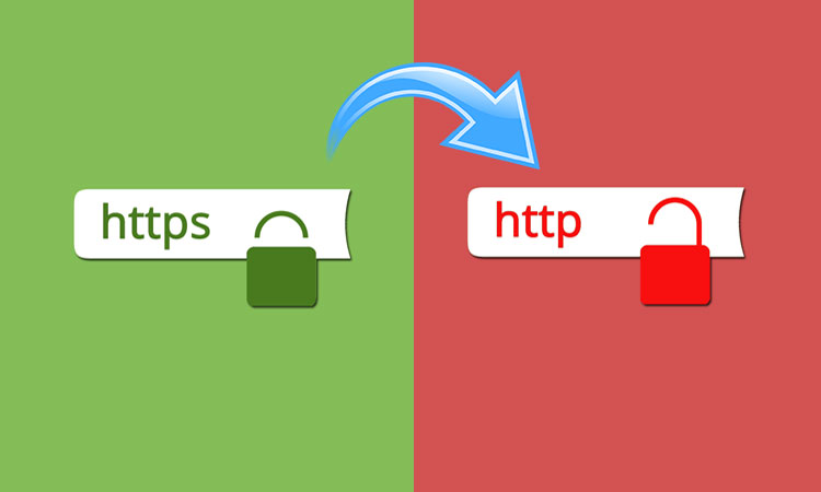 How to Redirect from HTTPS to HTTP