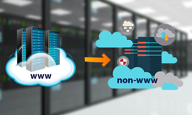 How to redirect www URLs to non-www