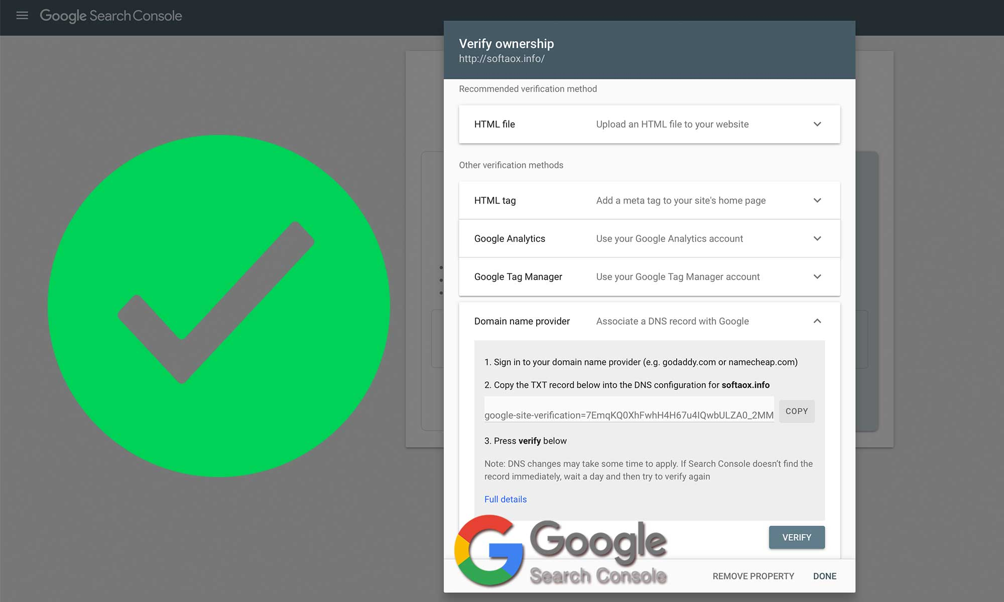 Google Site Verification: 5 Ways to Verify With Google Search Console