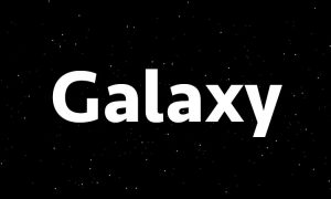 Galaxy Particle Effects Using CSS