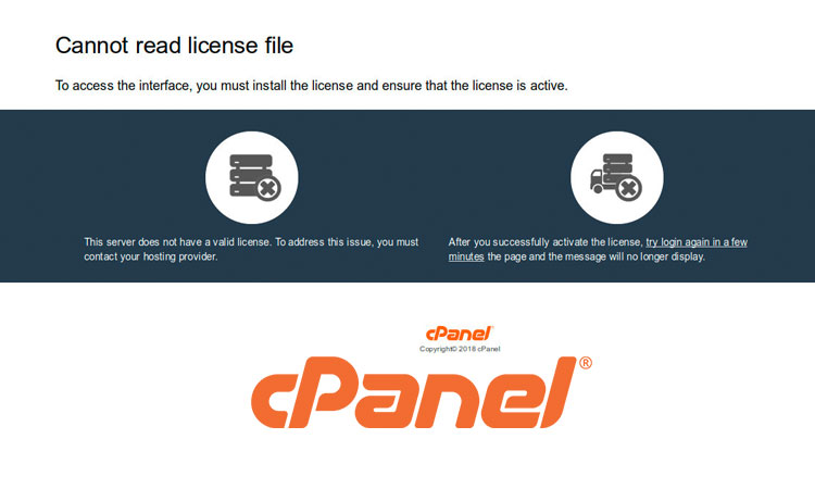 How to Refresh/Update cPanel Licence Verification