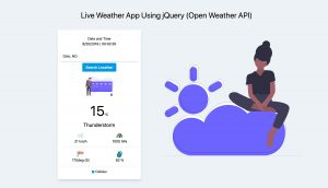 jQuery Plugin For Displaying Real Time Weather Conditions