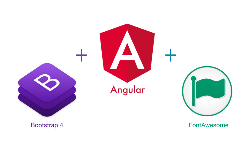 Best way to use Bootstrap and FontAwesome using NPM in Angular app