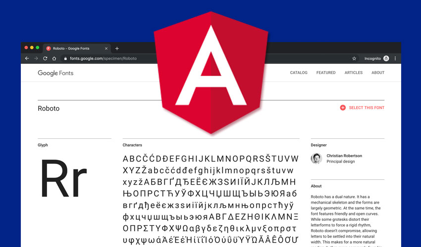 Best way to use Google Fonts in your Angular project