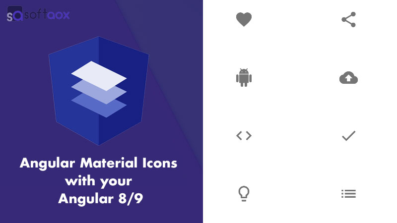 How to Use Angular Material Icons with your Angular 8 and 9