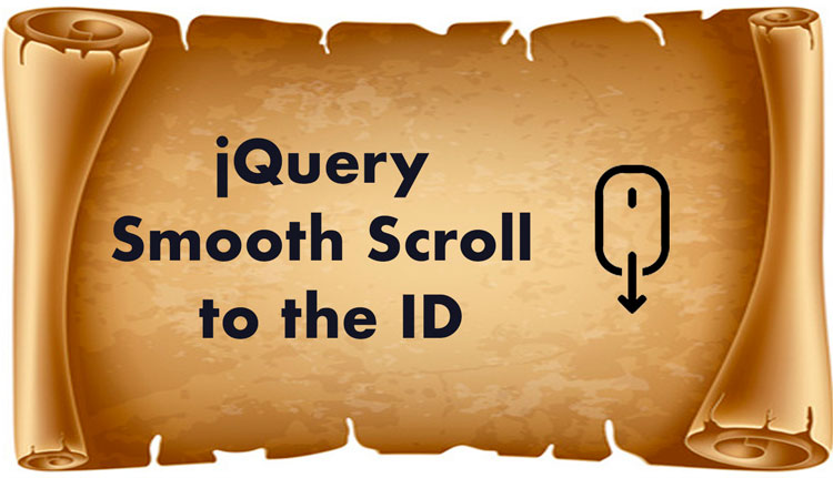 jQuery Smooth Scroll to the ID