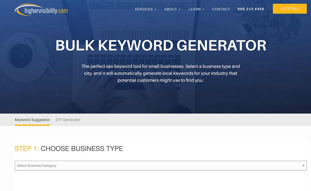 Bulk Keyword Generator Keyword Research Tools for SEO