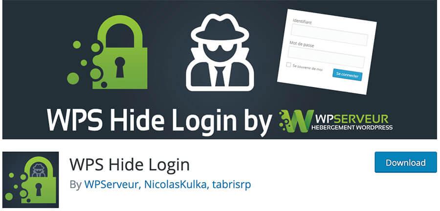 Change the wp-admin URL with WPS Hide Login Plugin