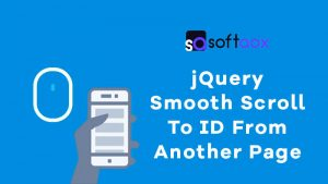 jQuery Smooth Scroll To ID From Another Page