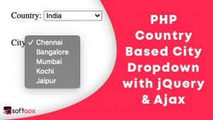 PHP Country Based City Dropdown with jQuery & Ajax