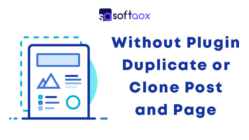 Without Plugin Duplicate or Clone Post and Page